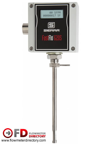 FastFlo 620S Fast-Response Insertion Thermal Mass Air Flow Meter