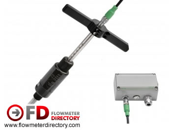 Insertion Flowmeter for Compressed air & gases - EE-776