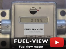 Fuel consumption meter DEMO : FUEL-VIEW