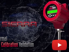 In-Situ Thermal Flow Meter Calibration Validation