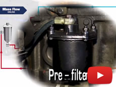 Installation of a fuel flow meter (FUEL-VIEW) for diesel