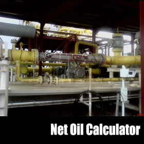 Net Oil Calculator