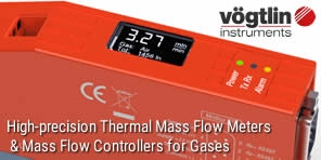 Mass flow meters & controllers with built-in display