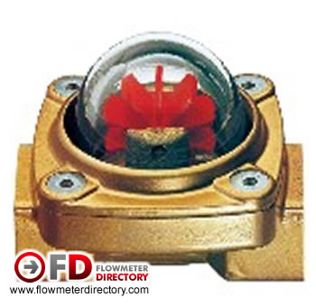 DKF-Paddle Flow Indicator for Horizontal or Vertical Installation